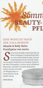 Yoga Aktuell nartu beauty ausschn 2016
